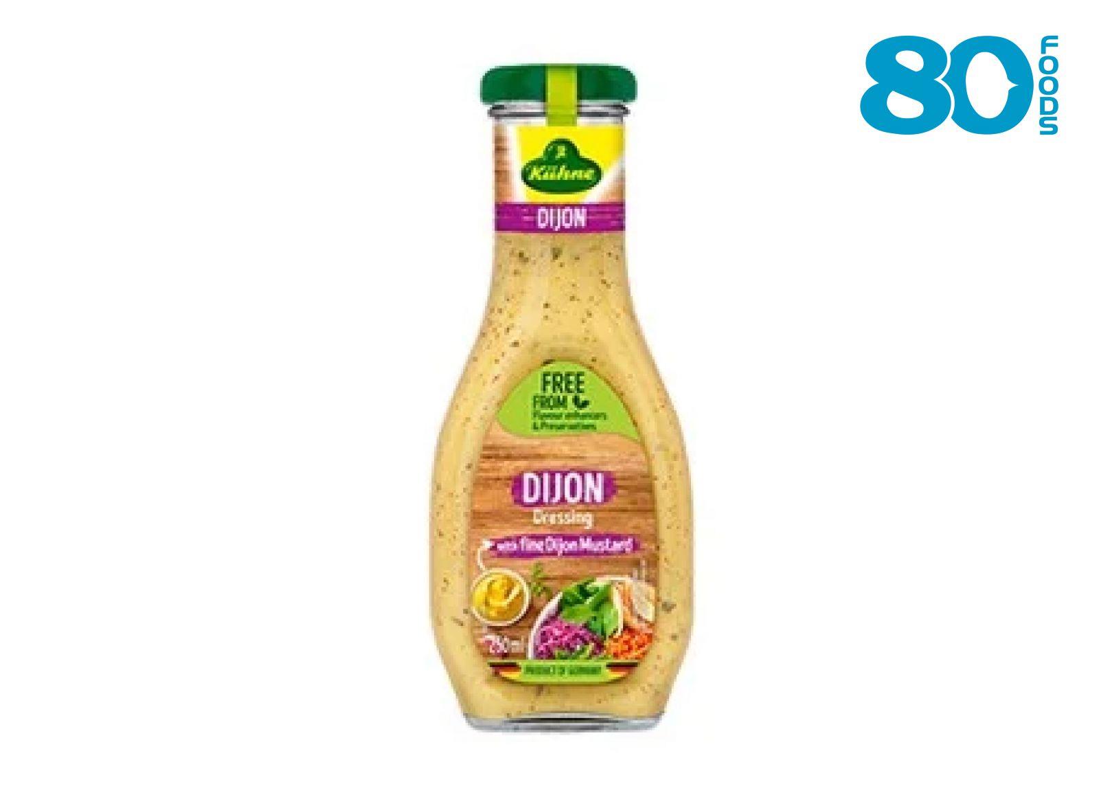 Sốt trộn Salad vị mù tạt Dijon kiểu pháp Kuhne